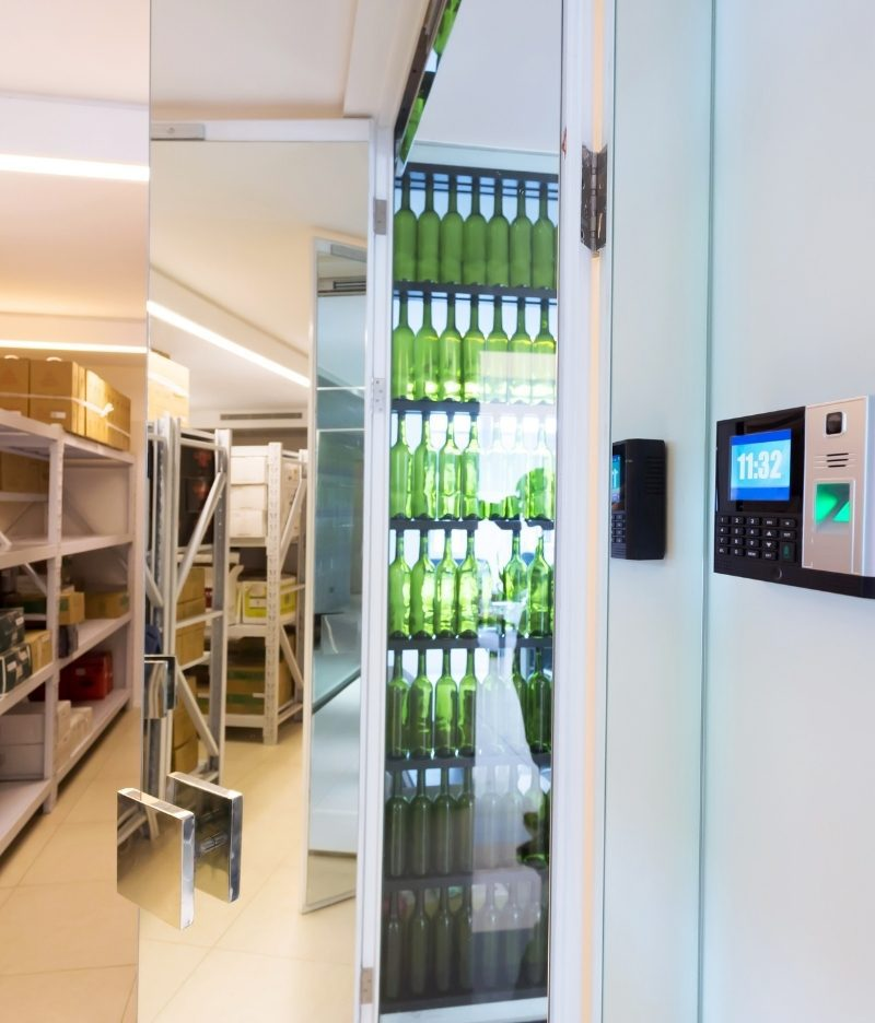 Managed access control systems for restaurants