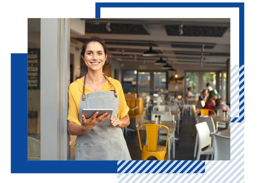 Managed services for restaurant chains